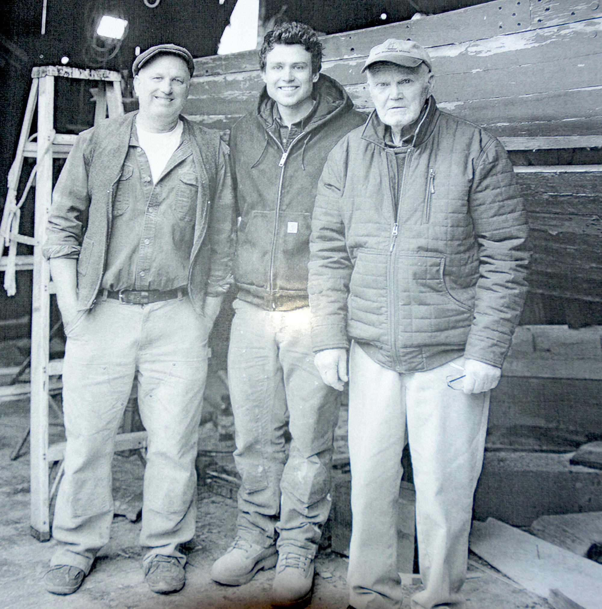 3 generations of Burnhams.