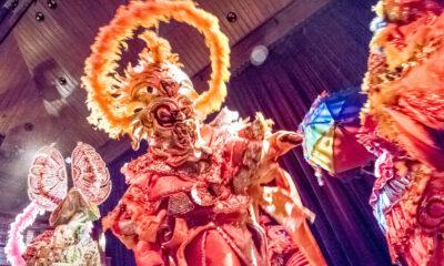 Members of Asociación Carnavalesca de Massachusetts.