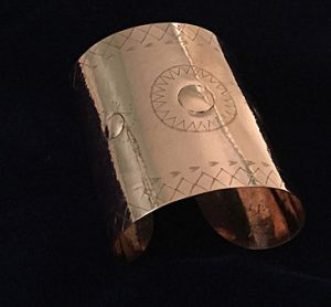 Jonathan James-Perry's Star Gauntlet Cuff.