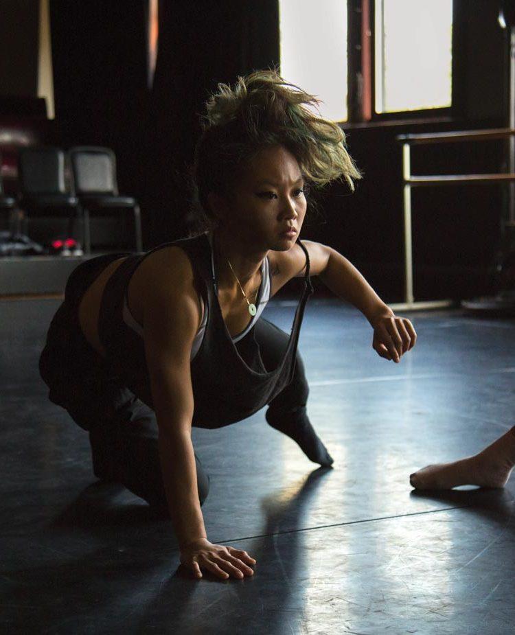 Ballerinas warming up, KAIROS Dance Theater, Boston, MA
