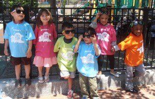 Kids at a Highland Street Foundation program