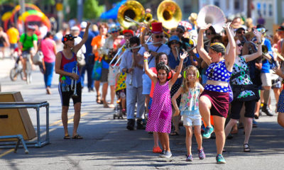 Community Parade in Somerville