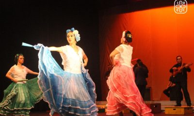 Youth performing traditional dance at México's Veracruz Institute of Culture.