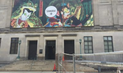Worcester Art Museum Entrance
