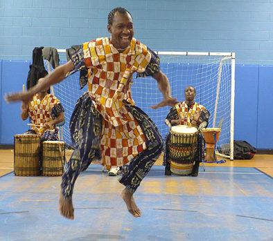 Sidi Joh Camara, West African dancer.