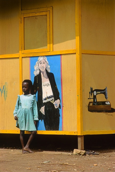 Cary Wolinsky (Sculpture/Installation/New Genres Fellow '09), Agbozume, Ghana, August 4, 1992