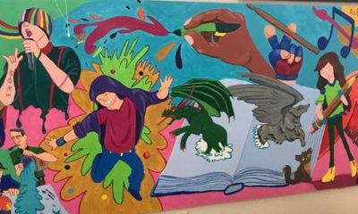 STARS mural