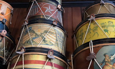 Noble & Cooley stacked drums