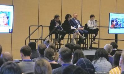 (l-r) Roberto Bedoya, Sakina Khan, Ryan Hand, Kara Elliott-Ortega Sharing Equity-driven Cultural Planning