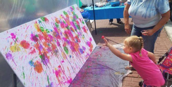We Love Jackson Pollack program by Chicopee Cultural Council