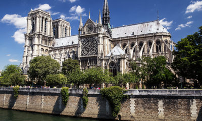 Notre-Dame. Royalty free image.