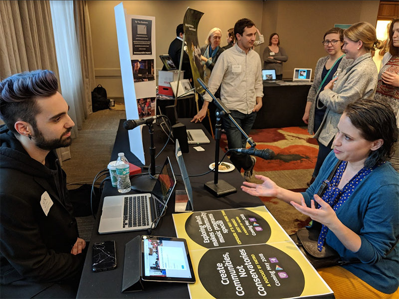 META Fellows share their projects at the 2018 META Showcase