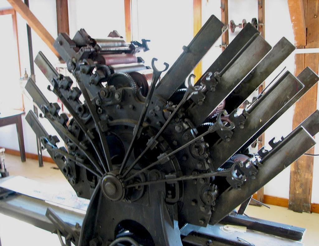 8 color rotary printing press
