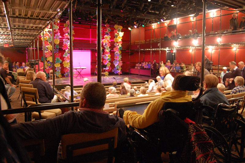 """Community Access to the Arts' Spring 2016 showcase """"Wallflowers"""" at Shakespeare & Company in Lenox, MA."""