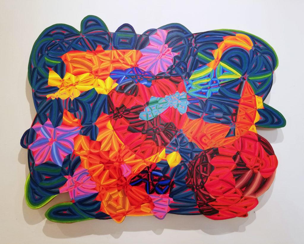 Deep Ocean (2017) by Marjorie Kaye (Painting Finalist '18).