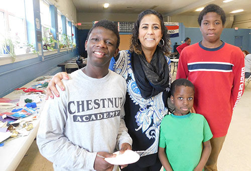 At Riverview Apartments, young people are celebrating their creativity.