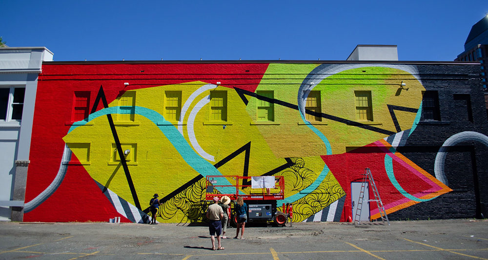 Springfield mural project. Image: Timothea Pham.