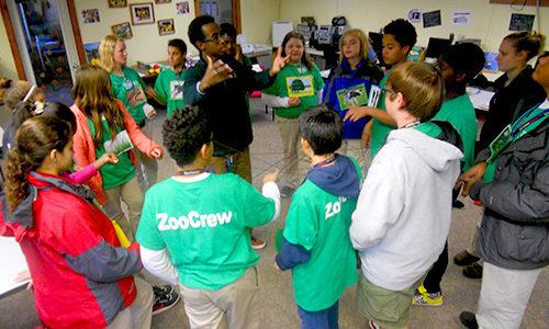 Zoo New England's ZooCrew.