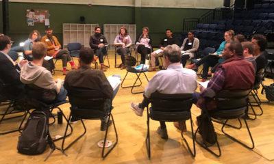 Initial convening of the Creative Youth Development Teaching Artist Fellowship Pilot Program.