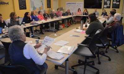 Attendees of the Cape Cod Chamber of Commerce & Visitors Bureau Regional Meeting of Cultural Districts