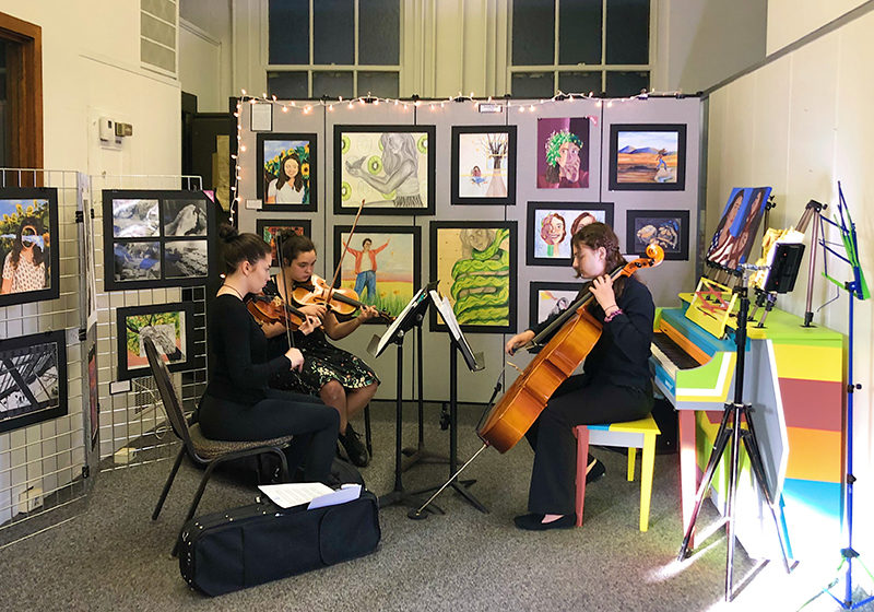 Wakefield Cultural Council grant reception