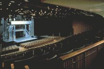 Interior of Loeb Drama Center