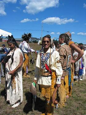 Wampanoag Tribe members. Photo Courtesy of the Wampanoag Tribe.