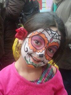 Child enjoying a community festival in Arlington
