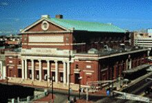 Symphony Hall in Boston. Photo:  Stu Rosner