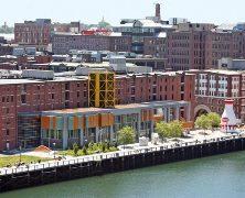 Exterior of Boston Children's Museum