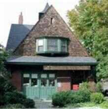 Exterior of Brookline Arts Center