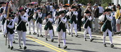 Parade of young fifers