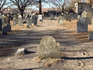 Charter Street Cemetery Walking Paths