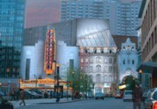 Rendering of Paramount Center for the Arts