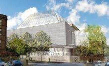 Rendering of Fogg Museum Construction