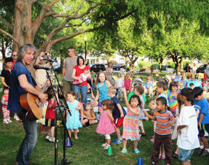 Outdoor performance for kids