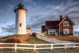 The Nobska Lighthouse and Keeper?s house