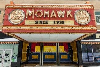 Marquee of the North Adams Mohawk Theater