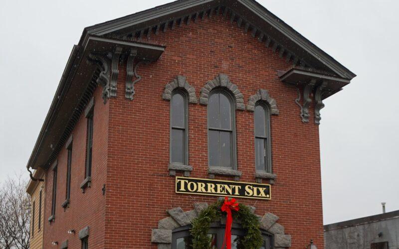 Torrent Six Firehouse Fa‡ade in Roxbury