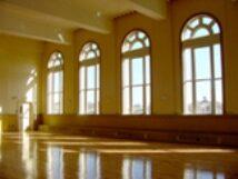 Interior of Hibernian Hall