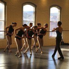 Ballet Class in Studio B