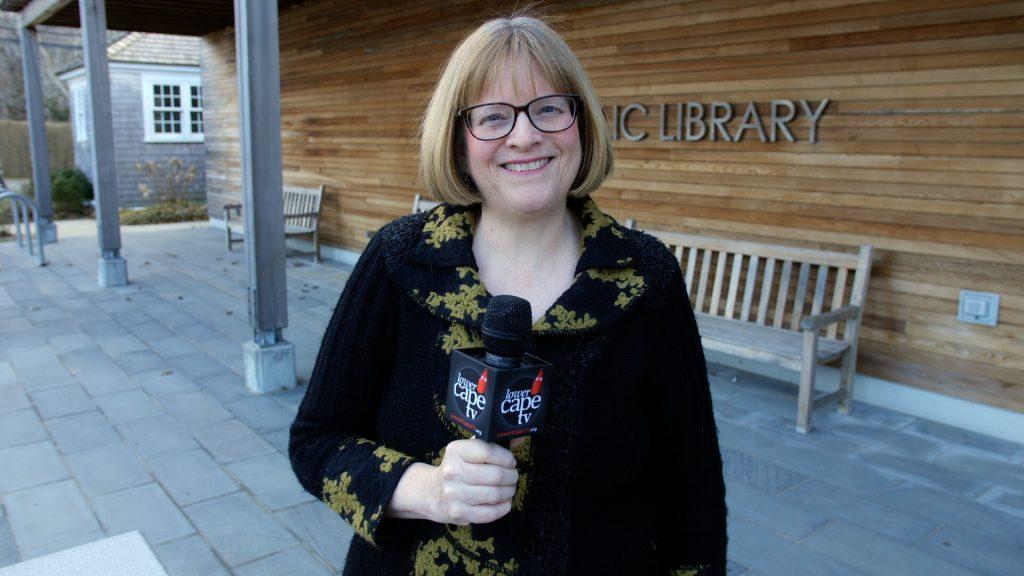 Teresa Martin at work for Lower Cape TV