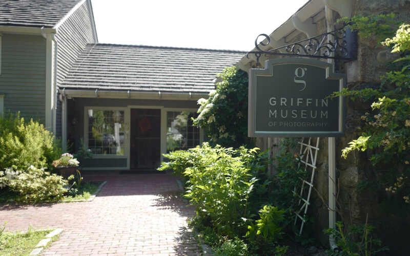 photo of entrance to Griffin Museum of Photography