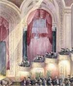 Rendering of Poli Palace Theatre interior