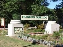 Entrance to Franklin Park Zoo