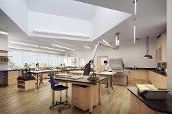 New conservation lab at the Antiquarian Hall