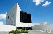 Exterior of the John F. Kennedy Presidential Library and Museum