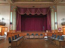 Interior view of the Wiggin Auditorium