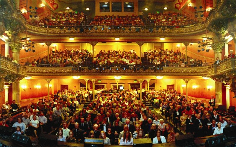 Interior of Colonial Theatre