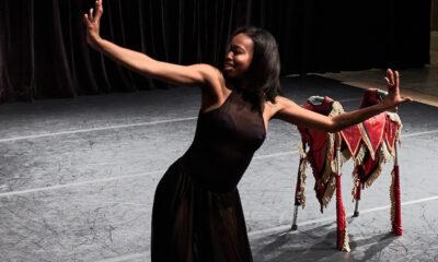 Abilities Dance Boston performance featuring Artistic Director Ellice Patterson. Photo: Bill Parsons.